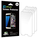 JETech 0920 HD Clear Retail Packaging Full Screen Screen Protector for Samsung Galaxy S7 - 3-Pack