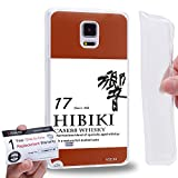 Case88 [Samsung Galaxy Note 4] Gel TPU Phone case & Warranty Card - Art Fashion Design 17 years old Hibiki 17 Kancolle Art4016
