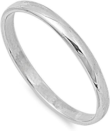 Men/'s Ring Plain Band \u2022 Sterling Silver \u2022 Simple Ring \u2022 Anniversary Gift \u2022 Mans Ring \u2022 Womans Ring \u2022 Mothers gift \u2022 Thin Ring
