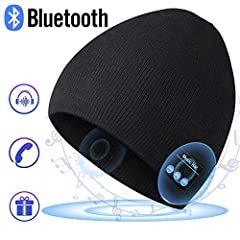 EverPlus Bluetooth Beanie Fuatures:  ♫Best Gift Ever: One size fits most, trendy design, tech-combine makes Bluetooth hat is best gifts for men, women, teenagers. ♫Multi-function Bluetooth Beanie: Phone calls/Replay phone/Listing to music/Vol...
