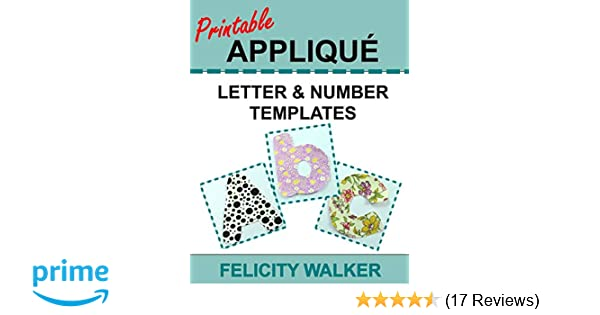 photo about Free Printable Alphabet Templates for Applique identified as Printable Applique Letter Range Templates: Alphabet