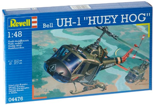 1:48 Revell Bell Uh-1 Huey Hog Uh 1d Huey Helicopter