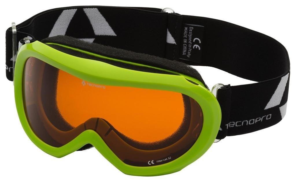 d1dfce1c3 TECNOPRO Ski Goggles Freeze (Green): Amazon.co.uk: Sports & Outdoors
