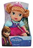 Disney Frozen Baby Anna Doll w/ Pink Crown, sucks her thumb