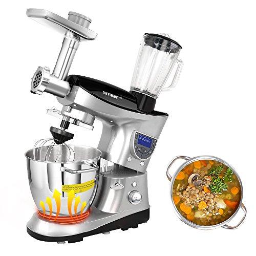 CHEFTRONIC Heating Bowl Multifunction Kitchen S...