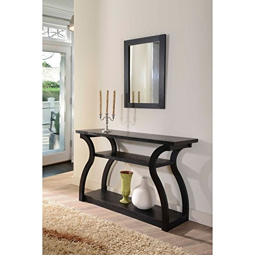 Metro Shop Furniture of America Sara Black Finish Console Table