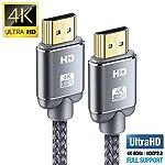 Cavo-HDMI-4K-2m-Snowkids-Cavi-HDMI-20-ab-ad-alta-Velocit-con-Ethernet-Supporta-4K-60Hz-HDR-2014a-HDCP-22-ARC-Video-UHD-2160p-Ultra-HD-1080p-3D-Xbox-PS3-PS4-TV-Computer-e-Monitor