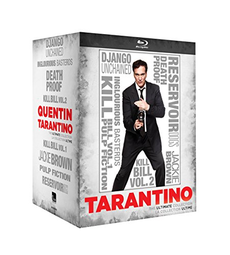 Quentin Tarantino: Ultimate Collection (Blu-ray) [Django Unchained, Inglourious Basterds, Death Proof, Kill Bill Vol. 1 & 2, Jackie Brown, Pulp Fiction, Reservoir Dogs]