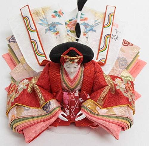 雛人形 親王収納飾り【金彩京刺繍】京十二番[幅55cm]小出松寿 市川伯英頭[193to1152-a29] 雛祭り
