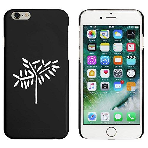 Noir 'Feuillu Arbre' étui / housse pour iPhone 6 & 6s (MC00085006)