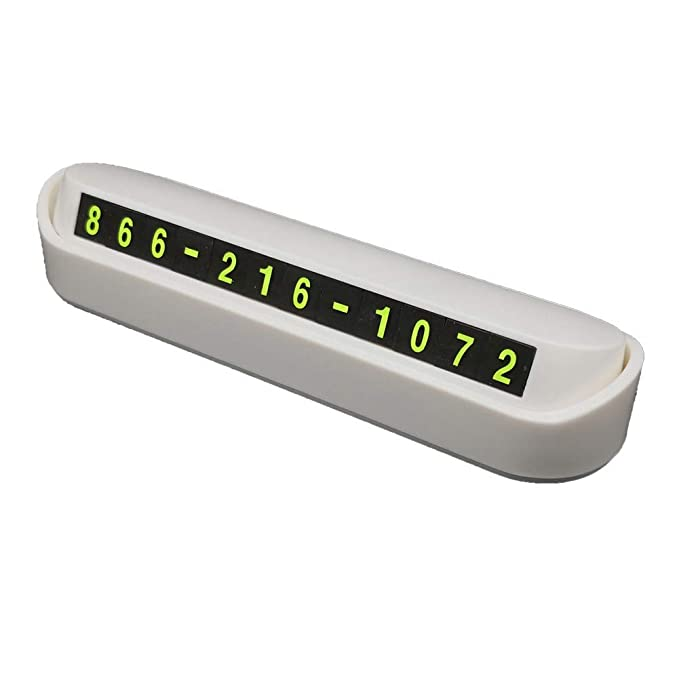 Argonv - Placa de Emergencia para número de teléfono móvil con ...