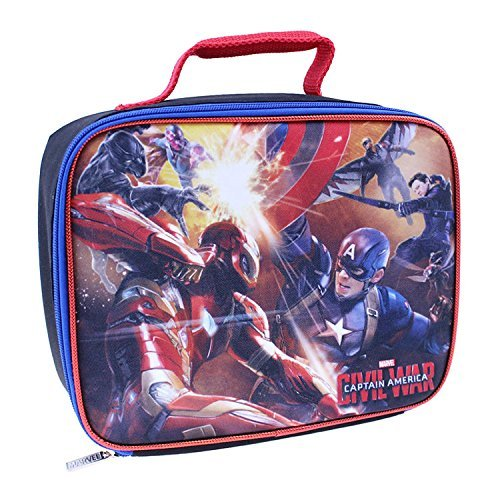 Marvel Captain America: Civil War Insulated Lunch Bag - Lunch Box