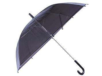 WYF-YS Paraguas transparente Paraguas para adultos/Sombrilla Paraguas gruesos de PVC Paraguas automáticos