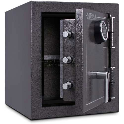Mesa Safe Company Model MBF1512E Burglary and Fire Safe with Electronic Lock, Hammered Gunmetal