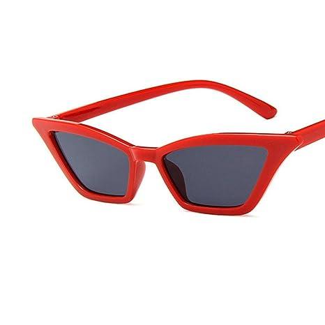 Gafas de Sol Polarizadas Konwa Vintage Gafas de Sol Cat Eye, Gafas de Sol Gafas