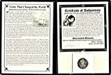 1783 MX 2 Reales Mexico El Cazador 2 Reales Silver Shipwreck Silver Coin,Album, Story and Certificate 2 Real Fine