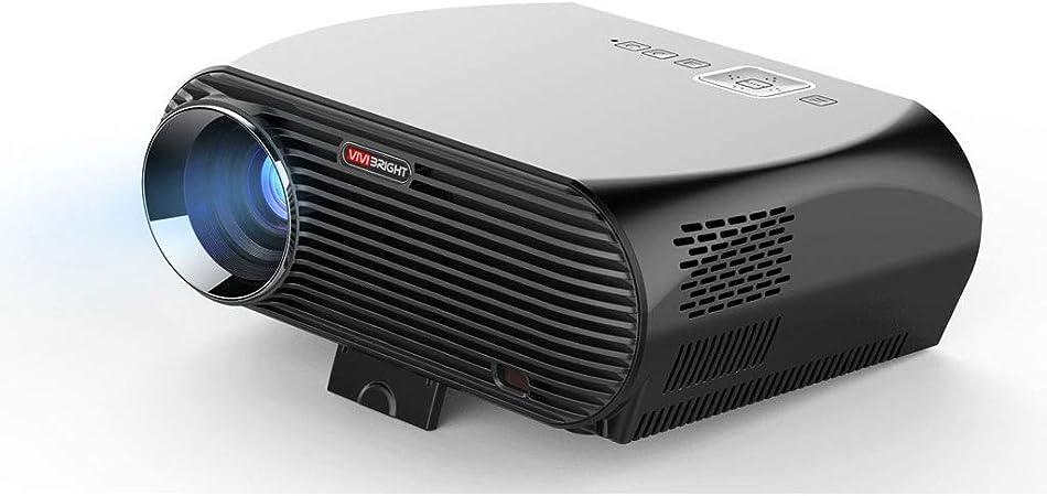 Wangchengtyy Mini proyector portátil de 3500 lúmenes HD para Cine ...