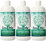 Eco-Me Natural Powerful Toilet Bowl Cleaner, Herbal Mint, 32 Fluid Ounce (3-Pack)
