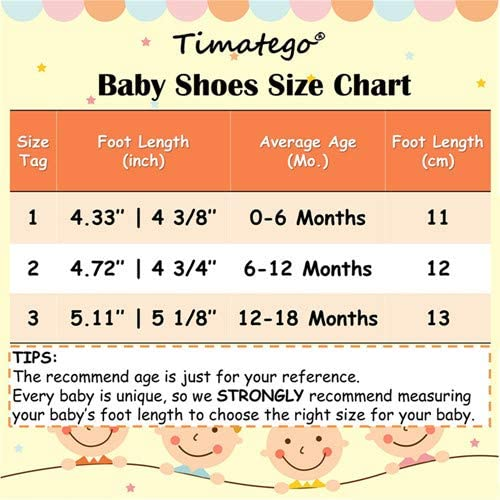 TIMATEGO Baby Boys Girls Loafers Shoes Slip On PU Leather Moccasin Sneaker Infant Toddler First Walker Dress Oxfords Crib Shoes 3-18 Months 06 White Baby Loafers 3-6 Months Infant