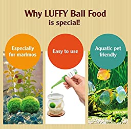 LUFFY Marimo Moss Ball Fertilizer - Boost Growth Rate: Enhance Plant's Color: Keep the Moss Ball Fluffy