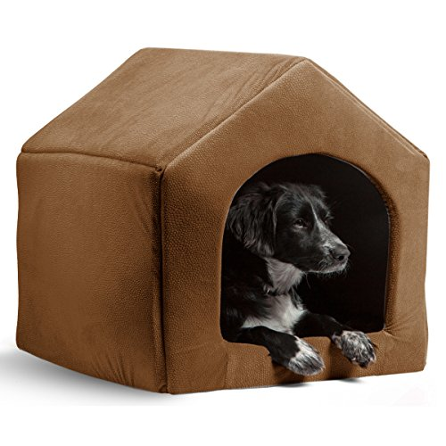 Dog House Cat Bed Pet Sofa Waterproof Cushion Warm Puppy