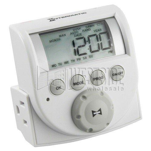 Intermatic 24-Hr Indoor Digital Plug-in Timer - DT620C