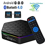VGROUND T95Z Plus Android 7.1 TV Box Amlogic S912 Octa-core Dual WiFi 2.4GHz/5GHz 1000M LAN Bluetooth 4.0 Supporting 3D and 4K H.265, 3GB+32GB (Dispatched from CA)