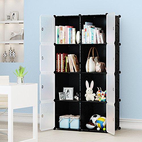 Plastic Organizer Bookcase Storage Wardrobe product image