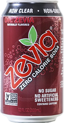 - Zevia All Natural Soda, Dr. Zevia, 12-Ounce Cans (Pack of 24)