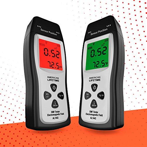EMF Meter - Handheld Electromagnetic Field Radiation