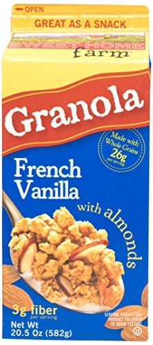 Sweet Home Granola French Vanilla, 20.5 oz