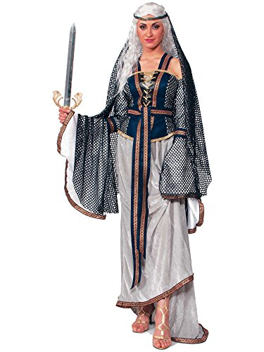 Forum Novelties Women's Lady Of The Lake Costume, Multi Colored, One Size ()