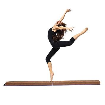 COSTWAY Schwebebalken Gymnastik Training Balance Beam ...