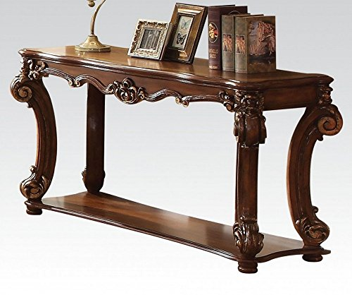 Acme Vendome Sofa Table in Cherry (Acme Cherry Sofa Table)
