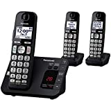 PANASONIC DECT 6.0 Expandable Cordless Phone System with Answering Machine and Call Blocking