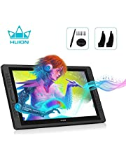 Huion KAMVAS Pro 22 GT-221 Pro V2 Drawing Monitor Pen Display Battery-Free Stylus 8192 Pen Pressure with Two Artist Gloves and 10 Pen Nibs - 21.5 Inch