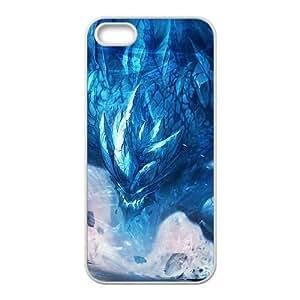 iphone5 5s White phone case League of Legends Malphite LOL5731564