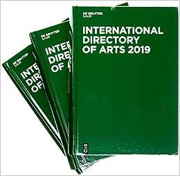 Descargar De Torrent International Directory Of Arts 2019 PDF Web