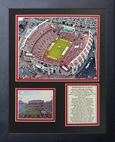 (Legends Never Die South Carolina Gamecocks Williams-Brice Stadium Framed Photo Collage, 11 by 14-Inch)