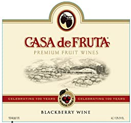 2012 Casa de Fruta Blackberry Wine 750 mL
