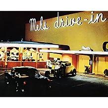 American Graffiti Mel's Drive in at Night 8x10 HD Aluminum Wall Art