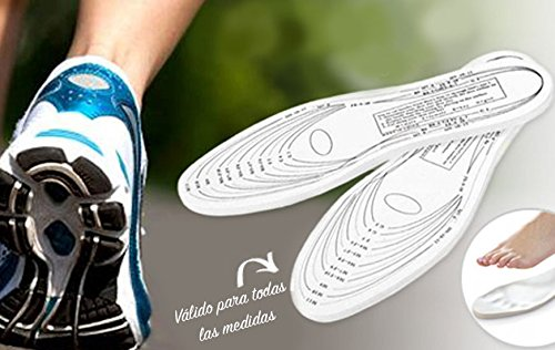 WEME Semelle a memoire de Forme : Confort des Pieds, Vu à la Télévision - Memory Insoles As Seen on TV