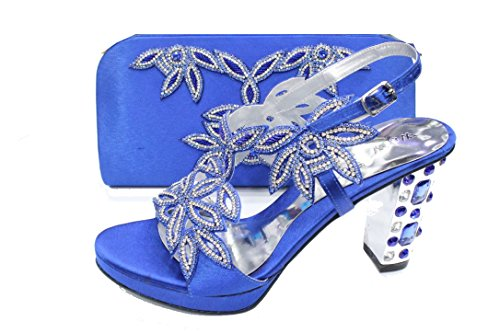 Femme Pour UK Marine Walk Wear Bleu Sandales amp; wqUnZxR1S