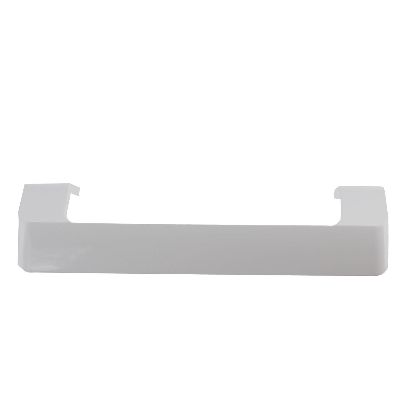 Spares2go tirador de puerta para Beko Nevera Congelador (blanco ...