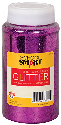 School Specialty School Smart Non Toxic Craft Glitter, Pu...