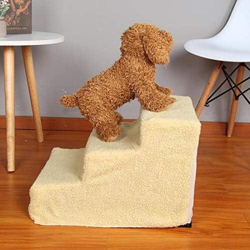 Yshen - Escalera para Perros pequeños, para Cachorros de Peluche, para Animales domésticos: Amazon.es: Productos para mascotas