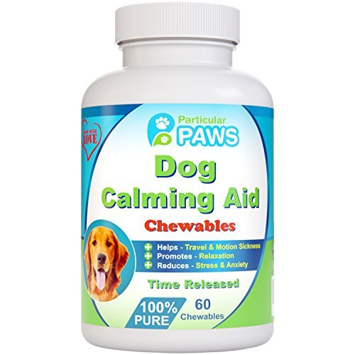 75 Mg 60 Chewable Tablets (Particular Paws Dog Calming Aid Time Released,60)