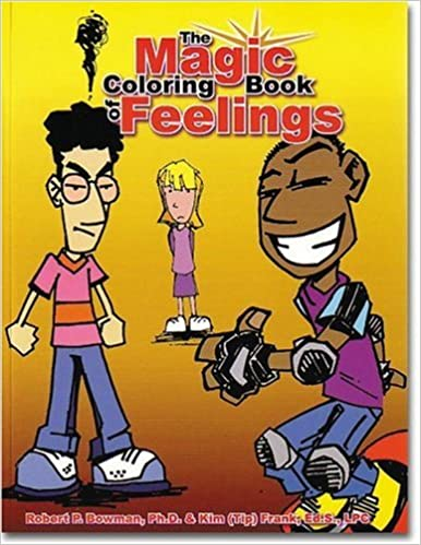 Magic Coloring Book Feelings: Robert Bowman, Kim \
