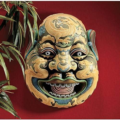 Design Toscano Wei Chi Gong Sculptural Wall Mask