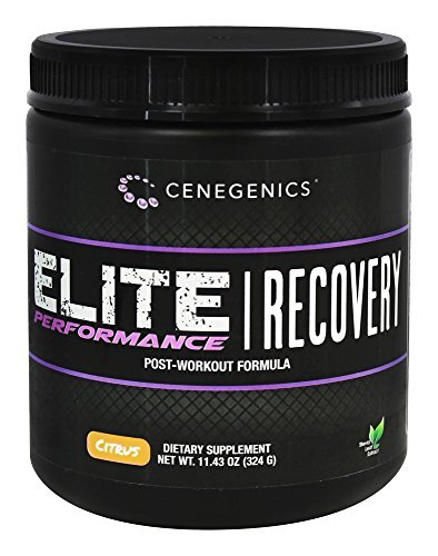 Cenegenics ELITE Performance Recovey Post-Workout Powder- Citrus Flavor- 11.43 Oz (324 G) Fundamental Ingredients Such As Glutamine, BCAAs, Creatine, Vitamin C to blunt cortisol and D-Ribose for cellular energy